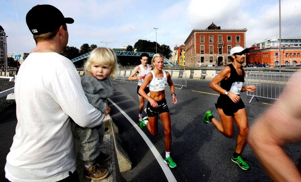 Underveis i Oslo maraton