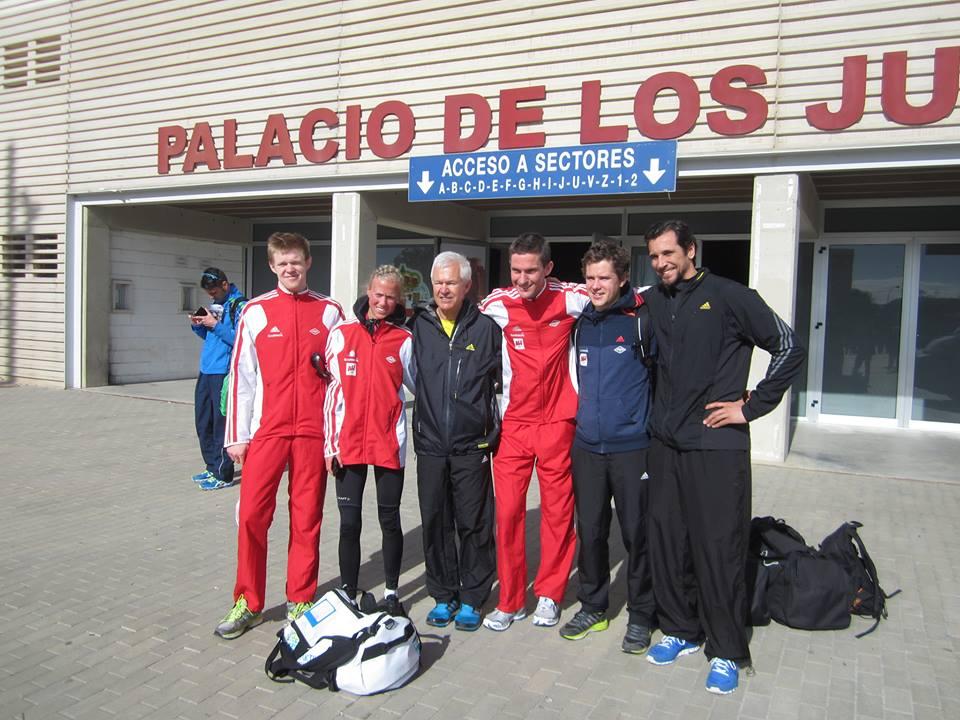 Halvmaraton Almeria Team